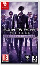 Saints Row The Third: The Full Package (Nintendo Switch) New