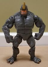marvel legends................fearsome foes rhino spider-man villain loose