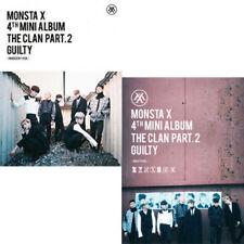 MONSTA X [THE CLAN 2.5 PART.2 GUILTY]4th Mini Album Random Ver CD+Photobook+Card