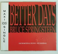 BRUCE SPRINGSTEEN - PROMO - BETTER DAYS ♦ MAXI-CD ♦