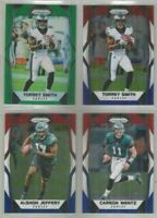 Philadelphia Eagles 4 card 2017 Panini Prizm PRIZMS lot-all different