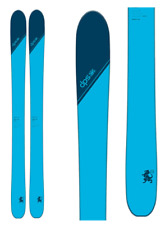 Dps Skis Wailer 106 Tour1 - 185cm - New