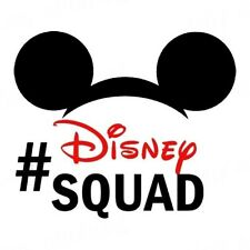 ********DISNEY SQUAD MICKEY MOUSE******************  T-SHIRT IRON ON TRANSFER