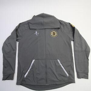 Boston Bruins Fanatics NHL Pro Authentics Jacket Men's Gray Used