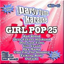 Various Artists - Party Tyme Karaoke: Girl Pop 25 [New CD]