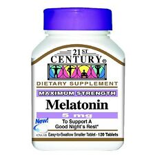 21st Century Melatonin 5mg, Maximum Strength 120 tablets