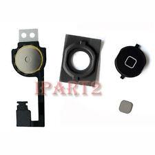 Home Menu Button Flex Cable + Key Cap assembly for Apple iPhone 4S  (Black)