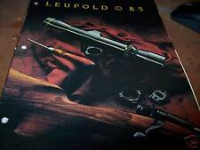 Leupol '85 Gun Scope Catalog