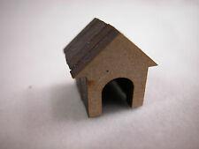 "Dollhouse Miniature 1/4"" Scale 1: 48  Dog House  #Z234"