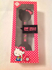 Cell Phone Hand Set. Hello Kitty. Brand New. Pop Phone. Black and Pink