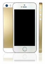 Champagne Gold Skin Sticker For iPhone 5s with chamfer protector wrap cover case