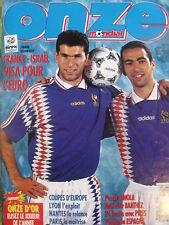 Onze Mondial 82/1995 Zidane Lyon Nantes France Israel