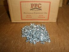 "8-32 X 7/16"" Phillips Pan Head Zinc SEMS Ext. Tooth Washer Screws (Qty.100)"