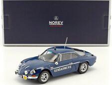 Alpine Renault A110 1600S 1971 Gendarmerie - 1:18 Norev Voiture Model Car 185301