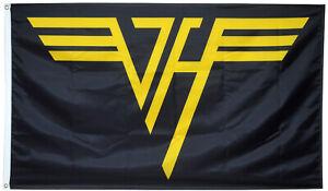 Van Halen flag 3x5ft black banner