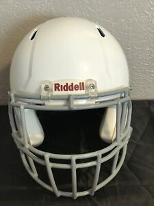 Riddell SPEEED Adult X-Large XL Football Helmet WHITE Recertified 2021 Pre-Owned