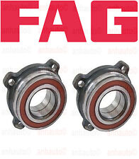 BMW E39 525i 530i 540i M5 E60 525xi 528i 530xi 545i Rear Wheel Bearing Set of 2