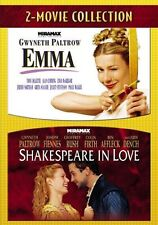 2 - Movie Collection Emma & Shakespeare in Love (Widescreen 2 Disc Dvd's) *Pg-R*