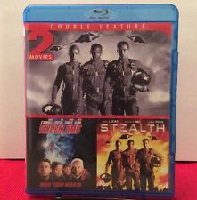 Stealth/Vertical Limit (Blu-ray Disc, 2012) Used Once - Free Shipping