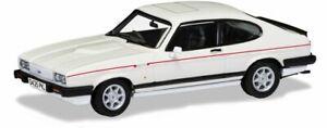 CORGI VA10819 FORD CAPRI MK.3 2.8i diecast model road car Diamond white 1:43rd