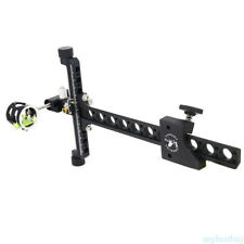 Compound Bow 1 Pin Bow Sight Micro Adjustable long pole for hunting & archery