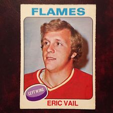 1975-76 O-Pee-Chee OPC Set ERIC VAIL #135 ATLANTA FLAMES - EX-MINT