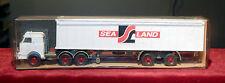Wiking Semi Remorque Porte Container Sea Land Camion Neuf Boite, 1/87, 527