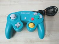 L866 Nintendo GameCube official Controller Emerald Blue Japan GC
