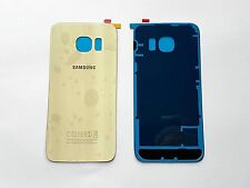 GOLD Rear Back Battery Cover Glass For Samsung Galaxy S6 Edge SM-G925F