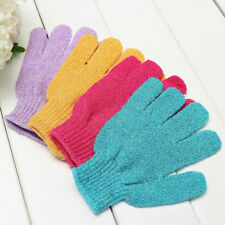 3 Pack Exfoliation Spa Bath Scrub Gloves Shower Gloves Soap For Men And Women