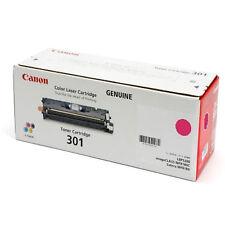 Original Canon 301 MAGENTA Laser Printer Toner Cartridge LBP5200 MF8180