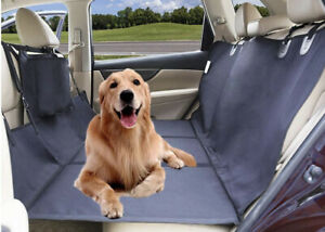 AMOCHIEN Seat Extender for Dogs - Backseat Extender for Dogs Back Seat Bridge to