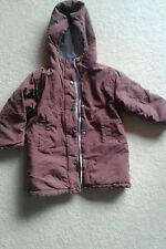 Girls Vertbaudet Reversible Coat Jacket age 5 years