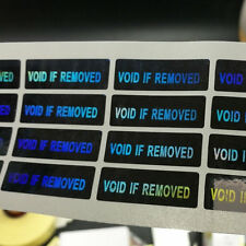hologram VOID IF REMOVED Tamper Proof Sticker Security WARRANTY Stickers 100PCS