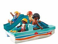 Playmobil 9424 Family Fun Floating Paddle Boat, Various