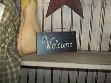 "Wood Signs Prim Country Custom ""Handmade"" Great for Wreath's & Grapevine Decor"