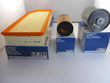 Mercedes C Class C270 2.7 CDI Service Kit Oil Air Fuel Filter 01-05 *OE MAHLE*