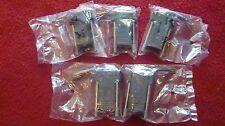 5 PCS Adapter DB9S RJ12  Female Jack RJ11 RJ12 RJ14 RJ25 6P 6C Contact Connector