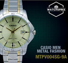 Casio Classic Series Men's Analog Watch MTPV004SG-9A MTP-V004SG-9A
