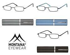 Occhiali da lettura da vista in Metallo Montana TR1 stile Retro con Custodia