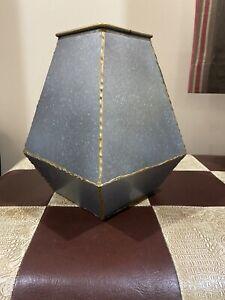 Riya Galvinized Table Top Vase