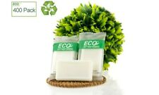 ECO AMENITIES Travel size 0.5 oz hotel soap in bulk, White,Green Tea, 200 Count