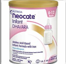 (6) Six Cans Neocate Infant Formula 14.1oz Fast Shipping FRESH Exp 2022
