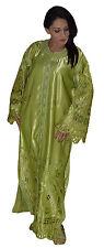 Wedding Gown Caftan Kaftan Dress Tackchita Abaya Moroccan African Green Handmade