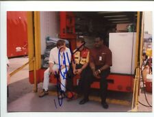 Walter Payton Chicago Bears HOF Signed Autograph Photo With Dale Coyne Racing