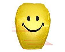 10 x Smiley Face Sky Lanterns - Chinese Lanterns