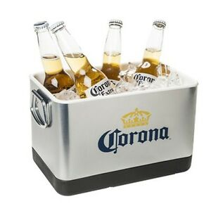 Corona Stainless Steel MINI Cooler Ice Bucket ~ NEW