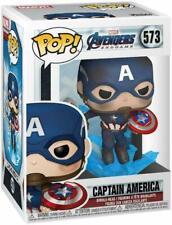 Funko Pop! MARVEL Avengers Endgame #573 Captain America w/ Protective Box!