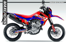 HONDA CRF250L CRF250M MAXCROSS GRAPHICS KIT DECALS DECAL STICKERS FULL KIT