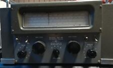 National NC-46 Communications Radio Receiver in Working Condition (USA 1946)